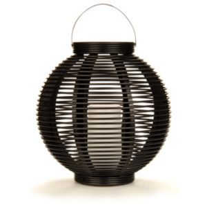 View Blooma Acamar Black Solar Powered LED Lantern details