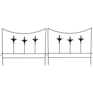View Verve Black Steel Border Edging Pack of 1 details