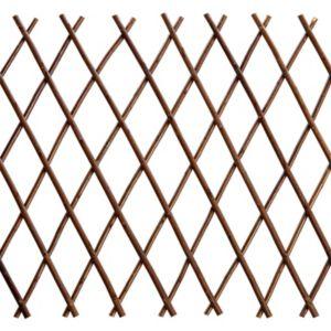 Expanding Willow Square Trellis Panel (H)1.5m (W)300mm