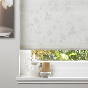 Bathroom Window Blinds B&Q colours seta corded grey & white roller blind (l)160 cm (w)180 cm