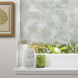 View Colours Sensu Corded Cream & Sage Roller Blind (L)160cm (W)180cm details