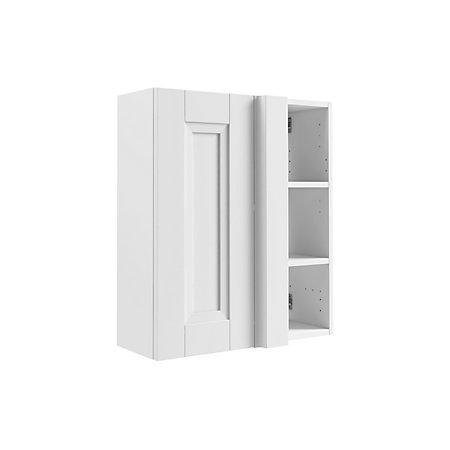 Cooke Lewis Sorella White Corner Wall Cabinet Departments DIY At