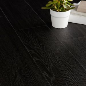 View Colours Ebony Effect Luxury Vinyl Click Plank Flooring 1.76 sq.m Pack details