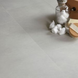 Colours Grey Natural Stone Effect Luxury Vinyl Click Flooring 1.49 m² Pack