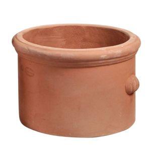 Image of Eden Round Terracotta Pot (H)20cm (Dia)30cm