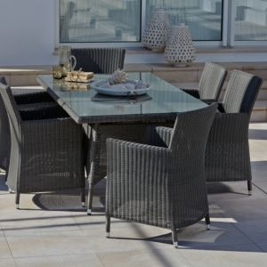View Comoro Taupe Rattan Furniture Set details