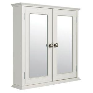 cooke lewis romano double door white mirror cabinet cooke lewis romano