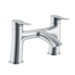 Cooke & Lewis Oceanspray Chrome Bath Mixer Tap