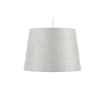 colours sadler large grey metallic lamp shade d 28cm. Black Bedroom Furniture Sets. Home Design Ideas