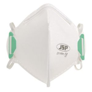 B&Q/Safety & Workwear/Workwear/Diall Disposable (Single Use) Fold Flat Mask FFP1  Pack of 2