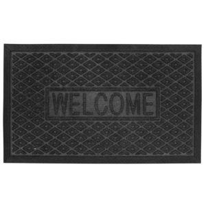 Image of B&Q Black Plastic Door Mat (L)0.75m (W)450mm