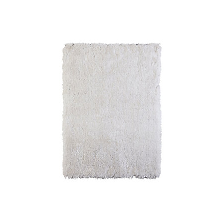 Colours Benita White Rug L 2 3m W 1 6m