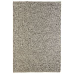 View Colours Claudine Grey Thick Knit Rug (L)1700mm (W)1200mm details