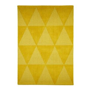 View Colours Lucille Yellow Rug (L)1700mm (W)1200mm details