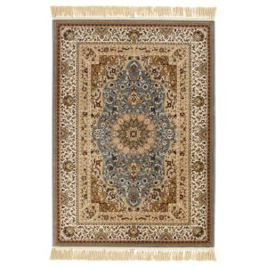 View Colours Helina Beige & Blue Persian Rug (L)1700mm (W)1200mm details