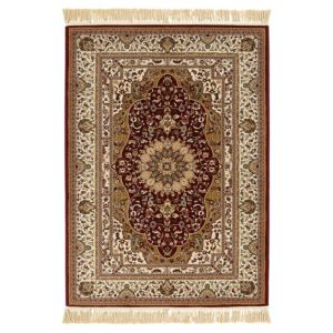 Colours Helina Beige & Red Persian Rug (L)1700mm (W)1200mm