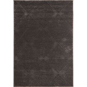 Colours Isabelle Grey Geometric Rug (L)1700mm (W)1200mm