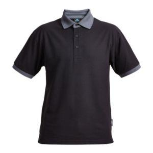 Image of Rigour Black Polo shirt X Large