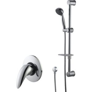 View Cooke & Lewis Wave Chrome Thermostatic Mixer Shower details