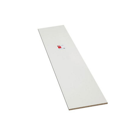 Diall Furniture Panel White Gloss  L 2440mm  W 150mm  T. Conti MFC Furniture Panel White  L 2440mm  W 610mm  T 15mm