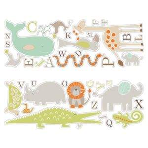 View Colours Animal Friends Self Adhesive Wall Stickers details