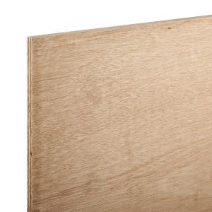 Image of Hardwood Plywood (Th)18mm (W)607mm (L)1220mm Pack of 2