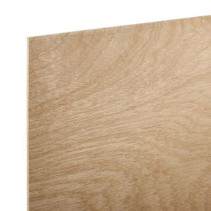 Image of Hardwood Board (Th)5.5mm (W)607mm (L)1220mm Pack of 6