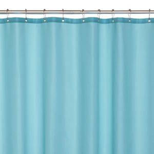 View Duck Egg Plain Shower Curtain details