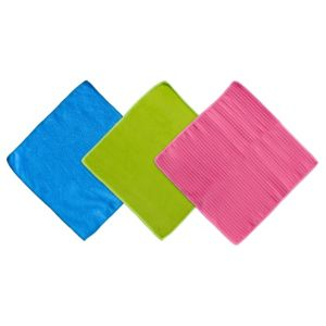 B&Q Microfiber Cleaning Cloth  Pack of 3