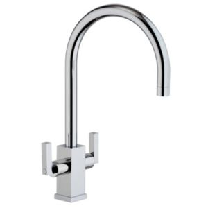 View Cooke & Lewis Lyon Chrome Effect Monobloc Tap details