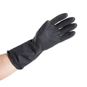 View B&Q Medium Heavy Duty Rubber Gloves, 1 Pair details