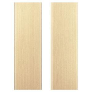 IT Kitchens Sandford Textured Oak Effect Slab Larder Door (W)600mm  Set of 2