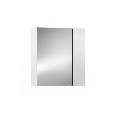 cooke lewis paolo gloss white mirror cabinet departments diy at