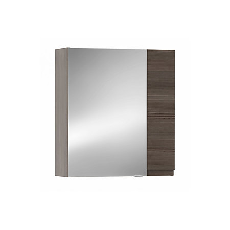 cooke lewis paolo bodega grey mirror cabinet departments diy at