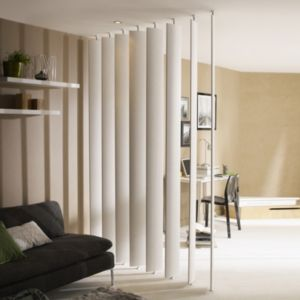 View Ella White Room Divider Single Blade details