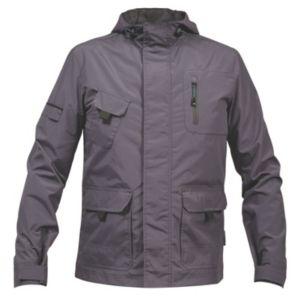 Image of Rigour Grey Lightweight Jacket Small