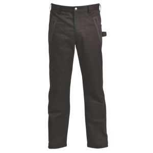 Image of Rigour Black Work trousers W34 L32