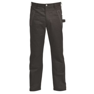 Image of Rigour Black Work trousers W36 L32