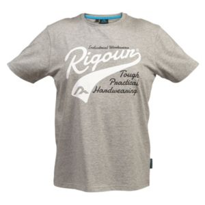 Rigour Grey Marl T-Shirt Extra Large