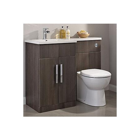 Cooke Amp Lewis Ardesio Bodega Grey Lh Vanity Amp Toilet Pack