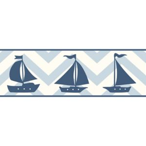 View Baby Colours Little Sailor Blue Border details