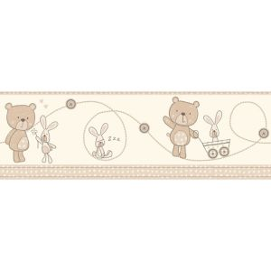 View Baby Colours Little Teddy Beige Border details