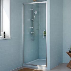 Cooke & Lewis Exuberance Hinged Shower Door (W)800mm