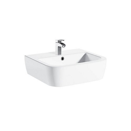 Square Wall Mounted Basin : Cooke & Lewis Affini Square Wall Mounted Cloakroom Basin Departments ...