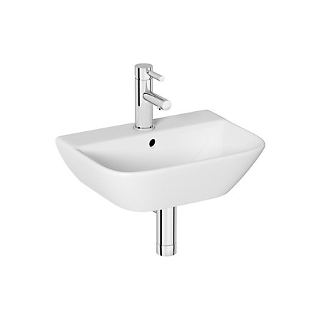 Square Wall Mounted Basin : Cooke & Lewis Lanzo Square Wall Mounted Cloakroom Basin Departments ...