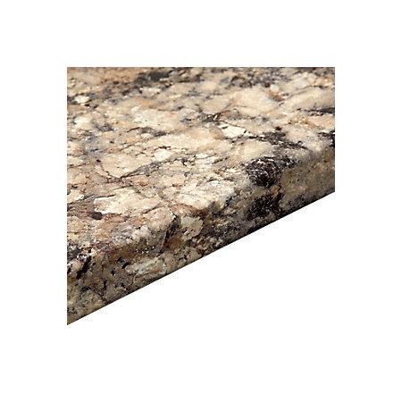 38mm B Q Carnival Granite Post Formed 3mm Kitchen