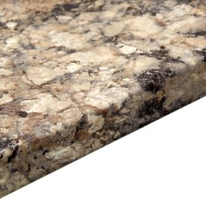 Image of 38mm Carnival Granite Laminate Marble Effect Round Edge Breakfast Bar (L)2000mm (D)900mm
