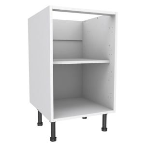 View Cooke & Lewis White Standard Base Cabinet (W)500mm details