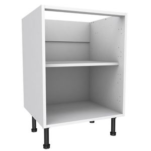 View Cooke & Lewis White Standard Base Cabinet (W)600mm details