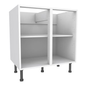 View Cooke & Lewis White Standard Base Cabinet (W)800mm details